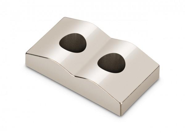 Saitenklemmblock Mitte für Locking Nuts 7-Saiter