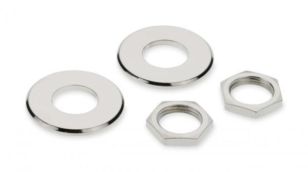 Nuts and Washer for Security Locks
