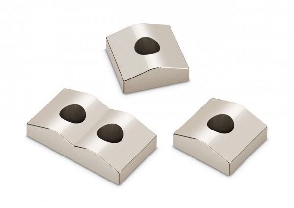 Saitenklemmblöcke für Locking Nuts 7-Saiter