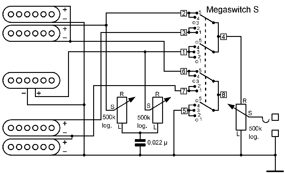hsh guitar wiring diagram hsh schaller webshop  hsh schaller webshop